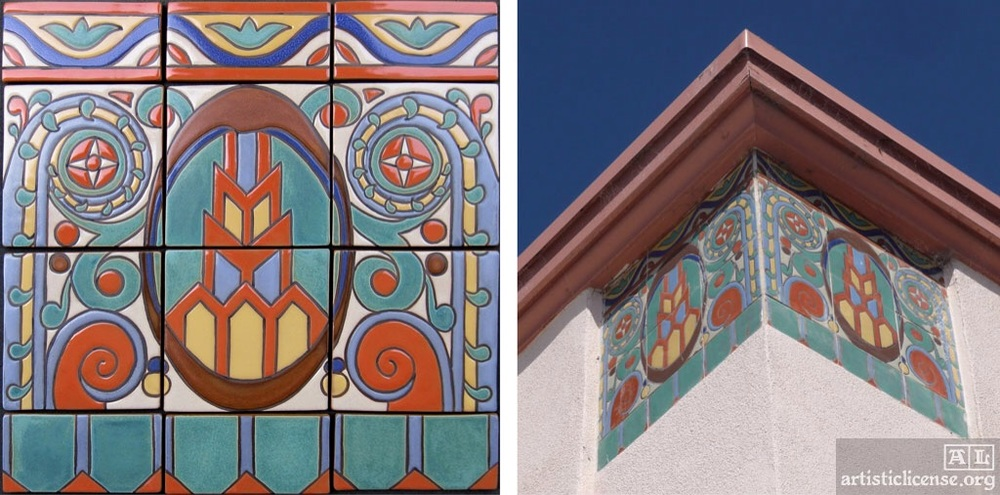 From Watsonville highschool - as seen in an artisticlicense article about Janet Starr'a tile work
