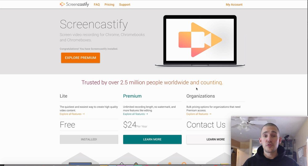 FREEMIUM SERVICE SCREENCASTIFY - A MUST!