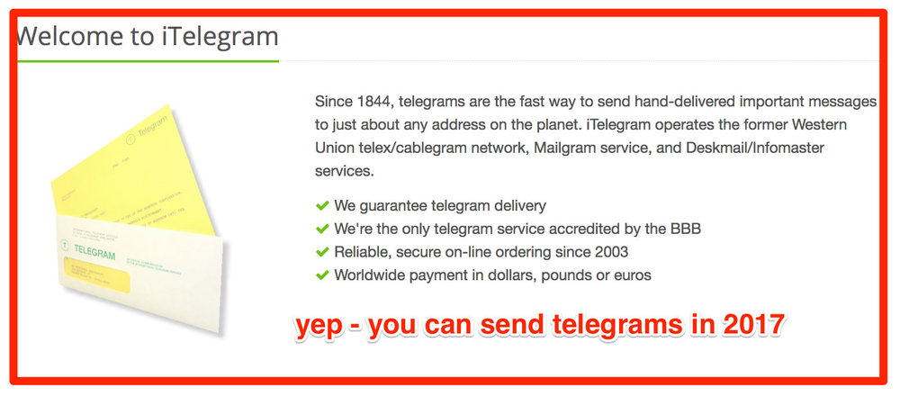 Microbudget-Film-telegrams