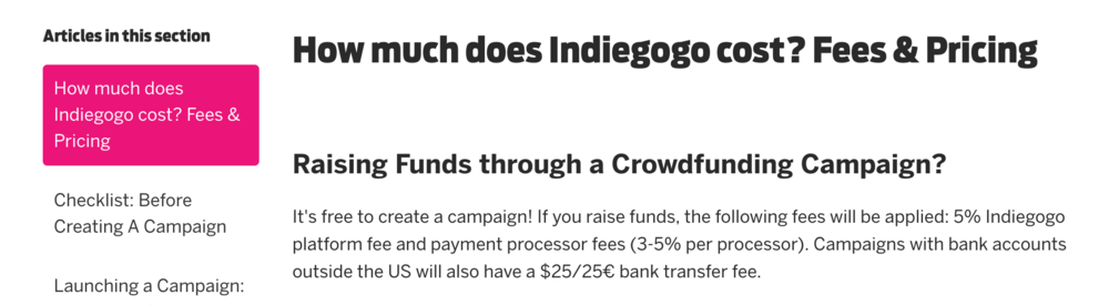 Microbudget-Film-indiegogo-fees