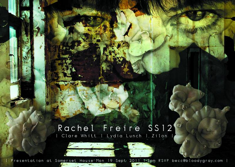 Rachel Freire X Lydia Lunch SS12 Presentation