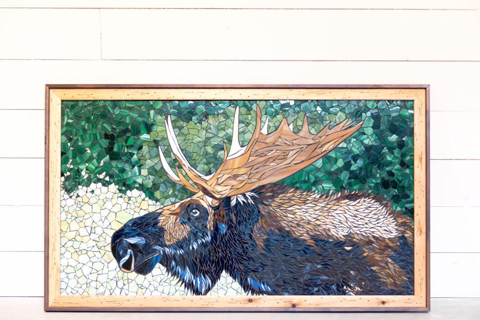 """Bailey Rae Mosaics """"Moose"""""""