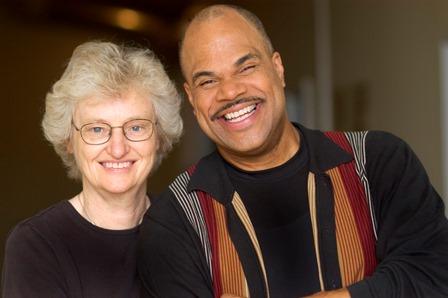 Anita with T. Mychael Rambo