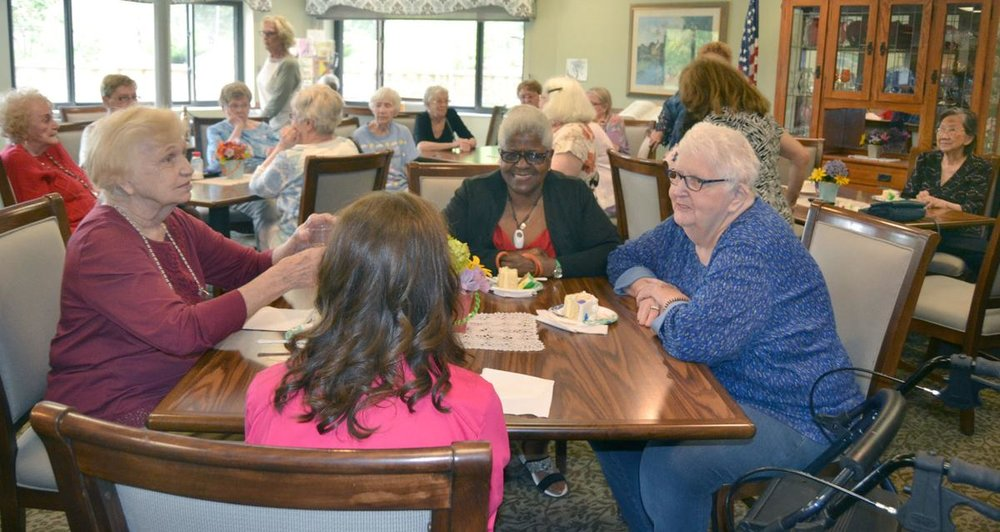 Residents of Avinity Senior Living Community