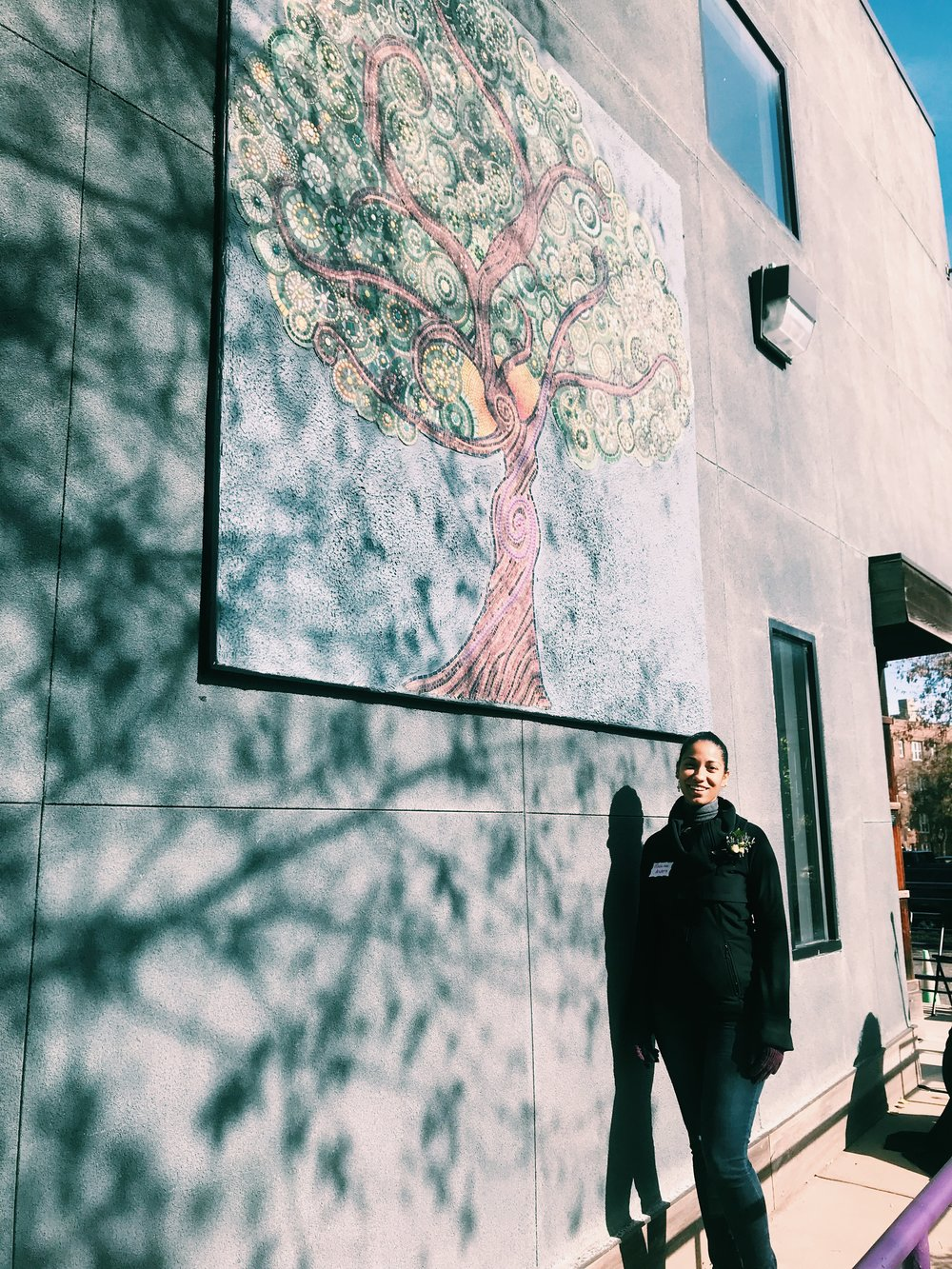 Tree Mosaic - by Mica Lee Anders and SPIP Community Members