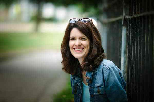 Author and life-coach Amy Hallberg