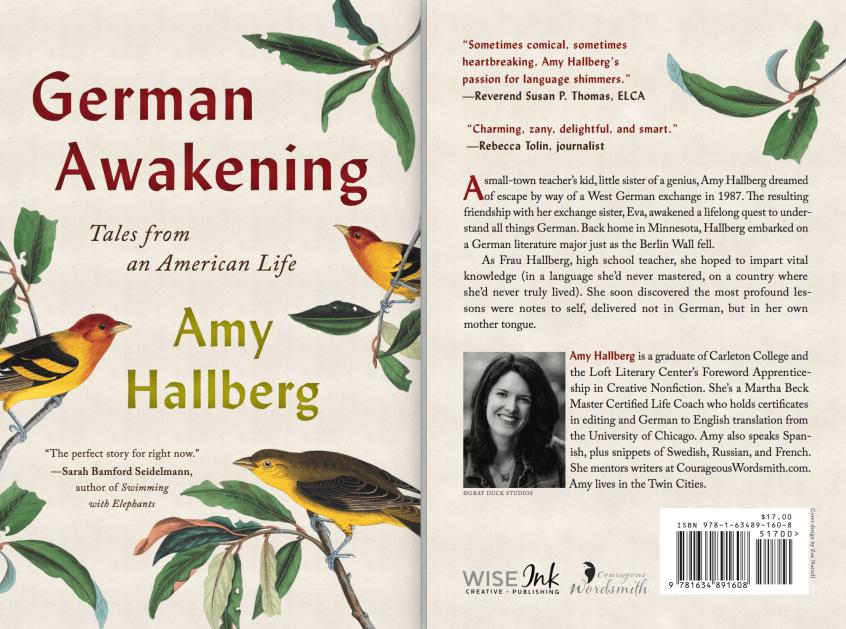 Amy Hallberg's memoir German Awakening: Tales from an American Life