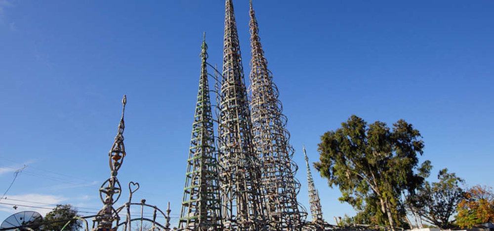 The Watts Towers of Simon Rodia