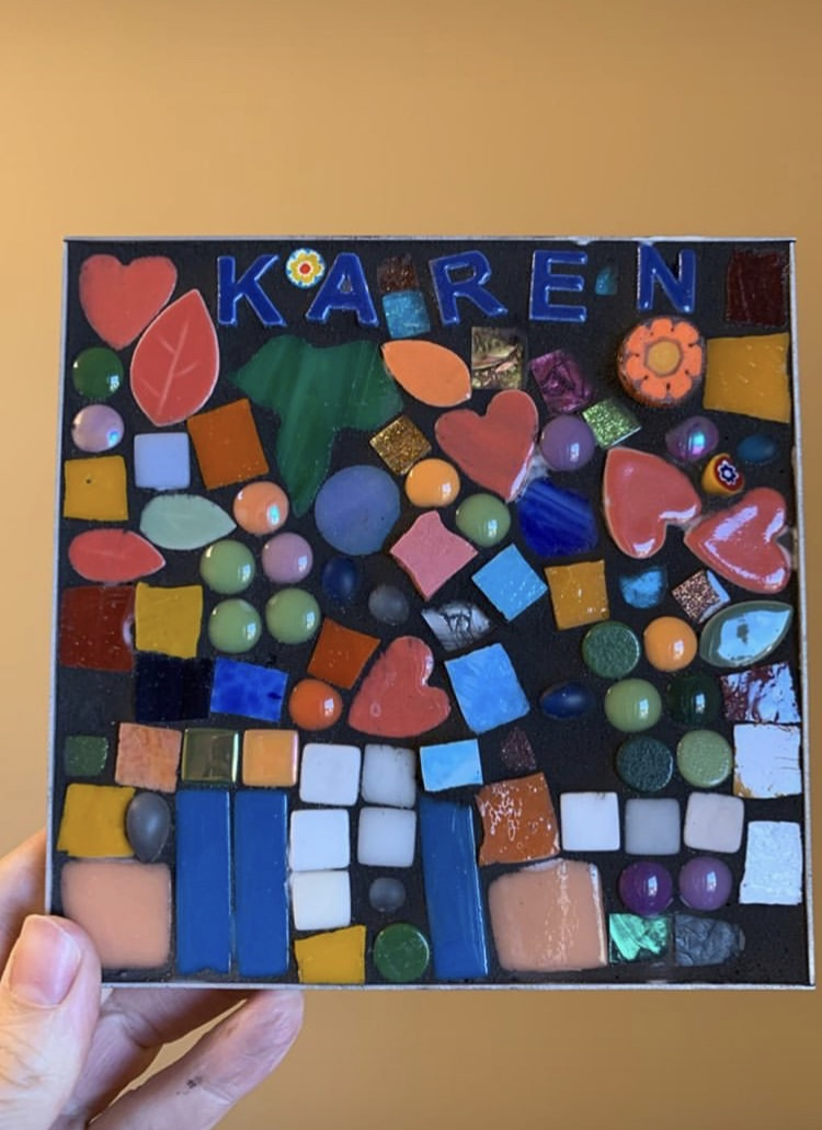 Mosaic from participant at Northeast Residence