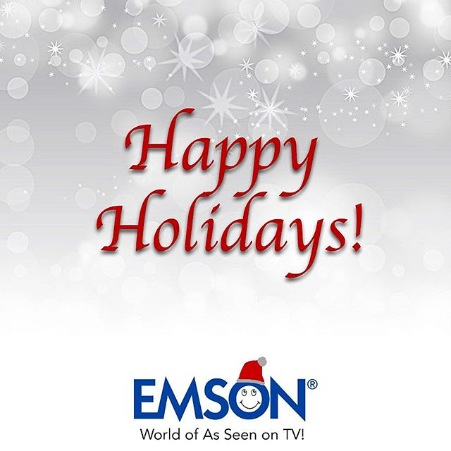 Happy Holidays from the Emson Team! ❤️