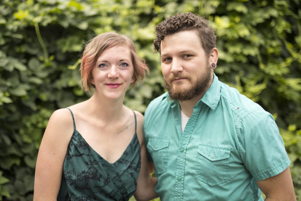 Paule & Mollie, July 2017