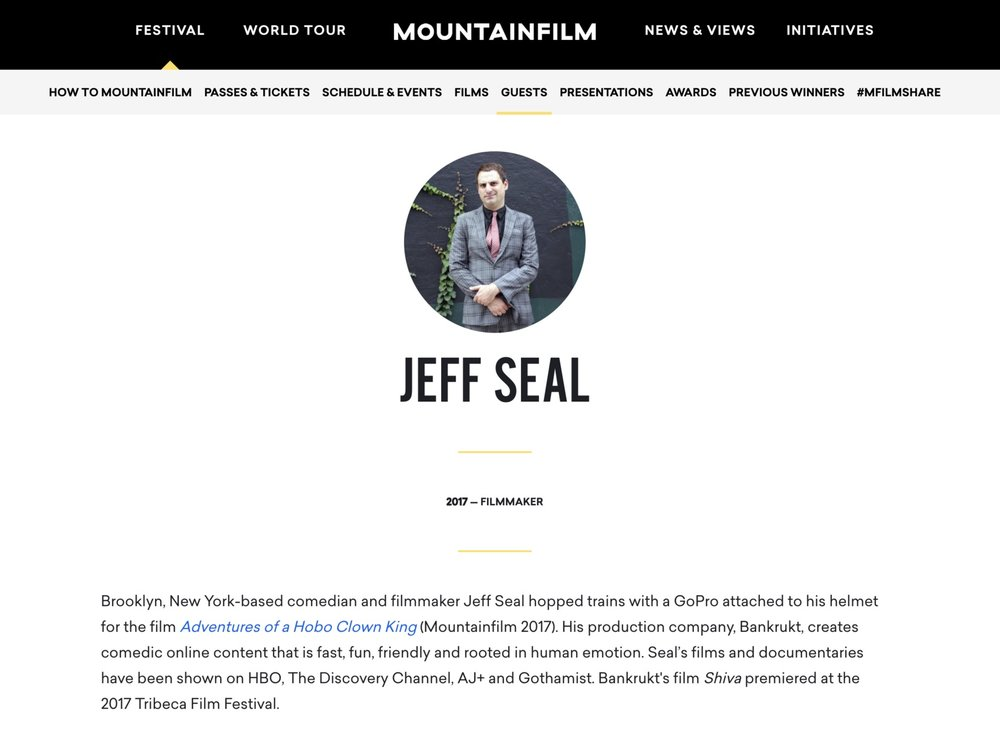 Mountain Film Festival