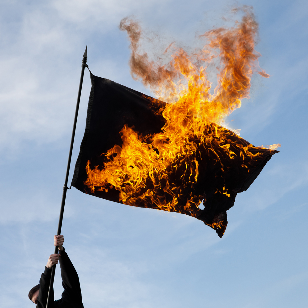 Untitled (Black Flag) , 2016