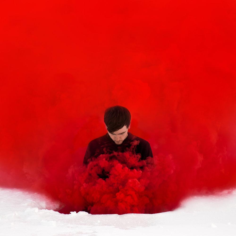 Untitled (Red Smoke), 2018