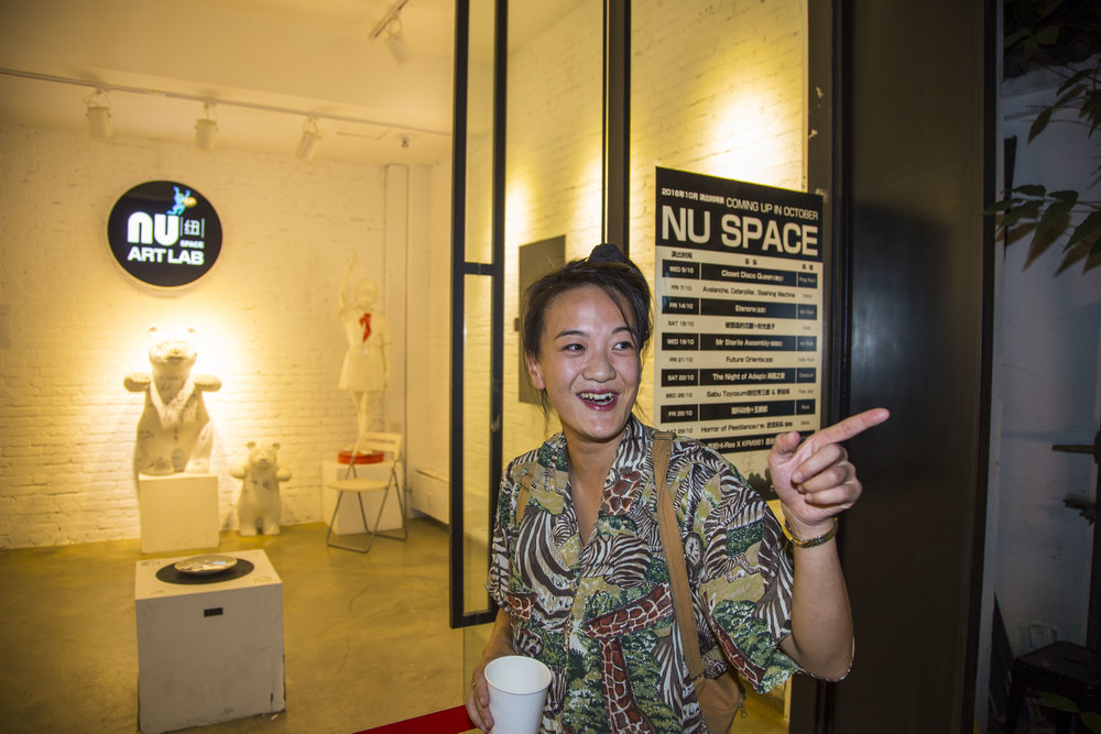 Kristen of Kiwese and NU SPACE