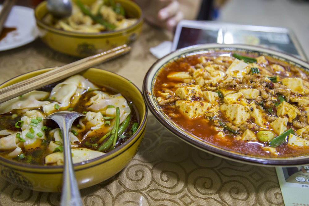 Sichuan food is the real deal
