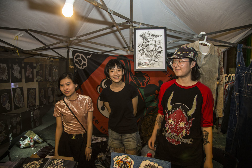 Vendors at NUART Festival