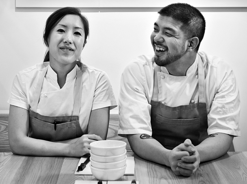 Makoto & Amanda Ono - February 5 + 6Vancouver, BCChef / Owners of Mak N' MingChef Makoto Ono began his culinary journey working at his father's Japanese restaurant EDOHEI in Winnipeg. Determined to grow his talents he travelled to London and trained under famed Chefs Jean-Georges Vongerichten and Marco Pierre White. He returned to Winnipeg and opened Gluttons, which featured Chef Ono's blend of French cuisine with Asian influences. In 2006, Chef Ono won Gold Medal Plates which lead to many international job offers. He ended up moving to Asia to open acclaimed restaurants in Beijing and Hong Kong. Returning to Canada, Chef Ono can now be found cooking along side his wife at Mak N Ming, a small gem in Kitsilano that specializes in set menus.