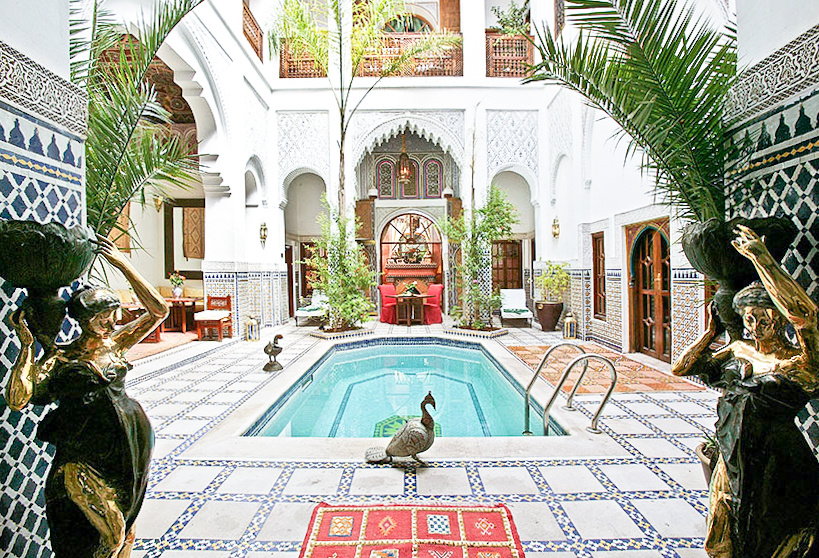 A  riad  in Marrakech