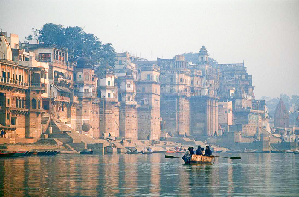 The Ganges River  in Varanasi