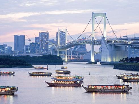 Harbor  in Tokyo