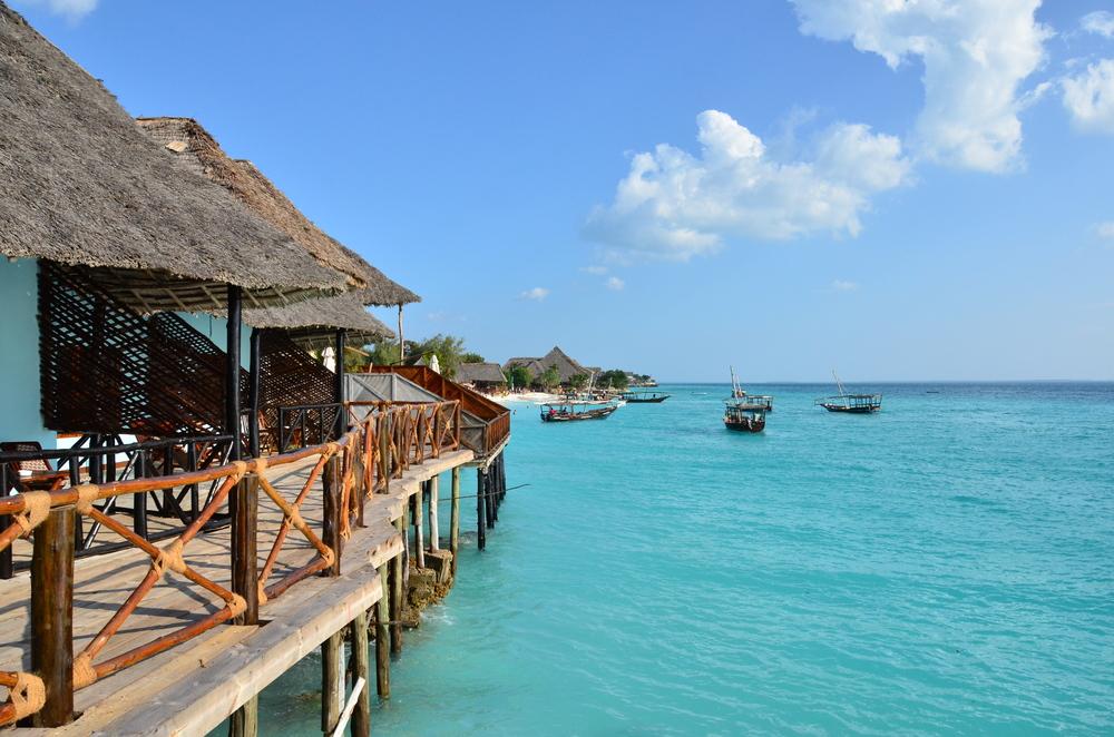 Zanzibar beach shacks