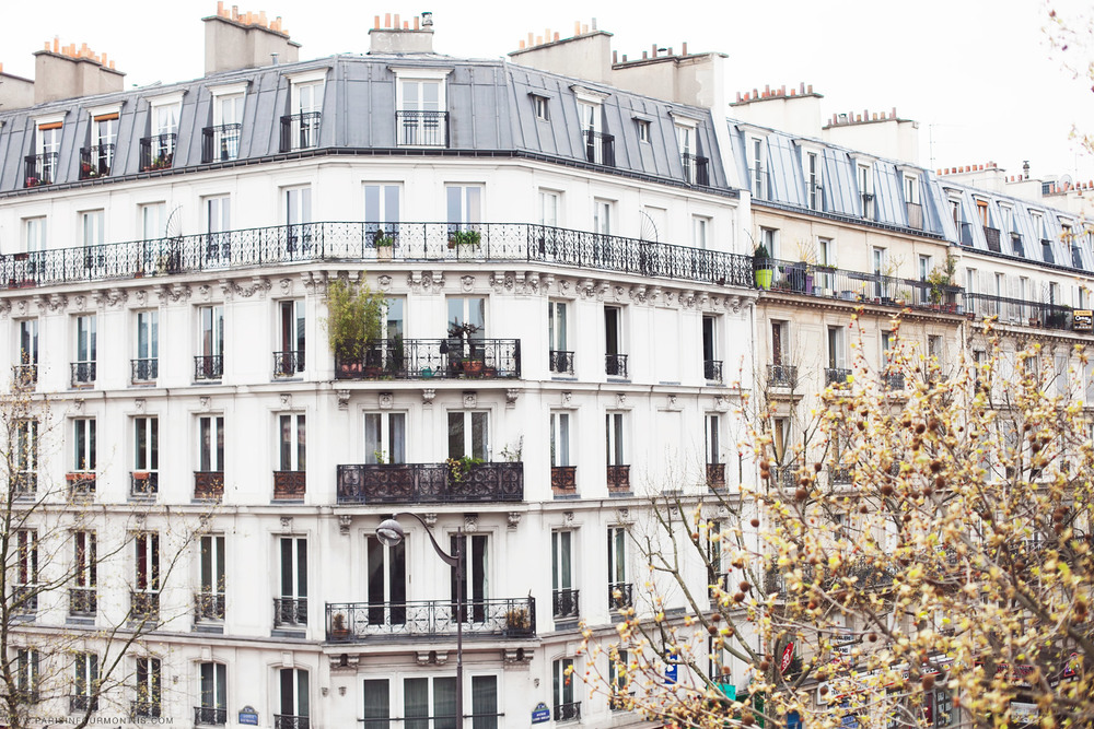 Classic Parisian facades