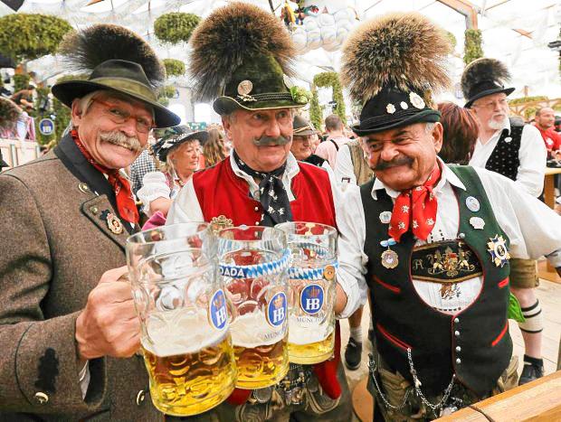 Prost (cheers!) at Oktoberfest