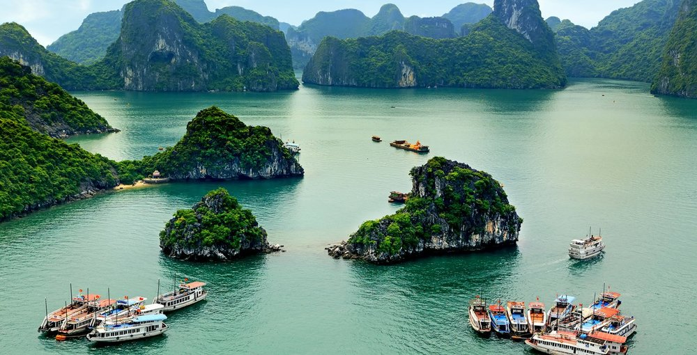 Halong Bay via  Vietnam Travel