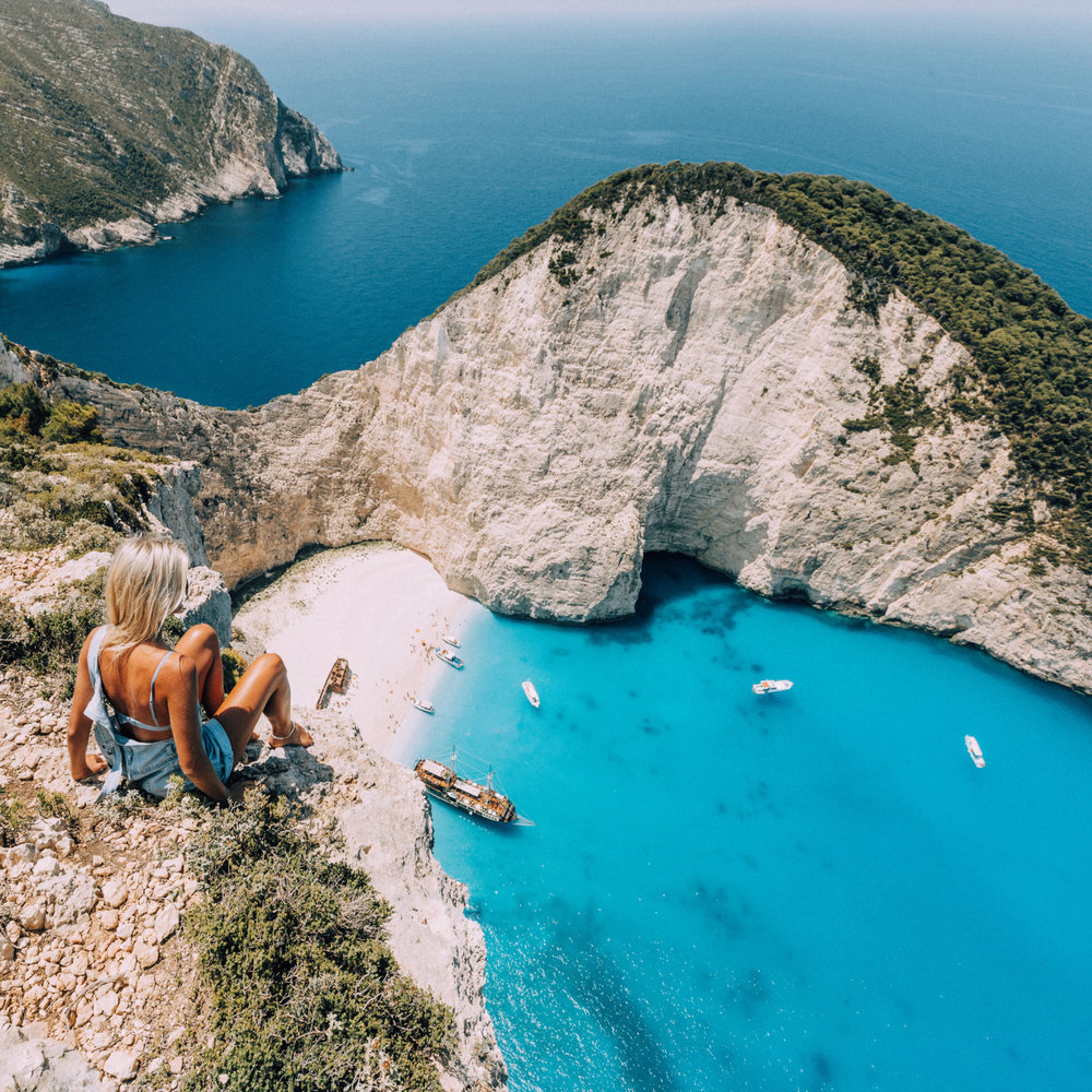Navagio Beach via Hybrid