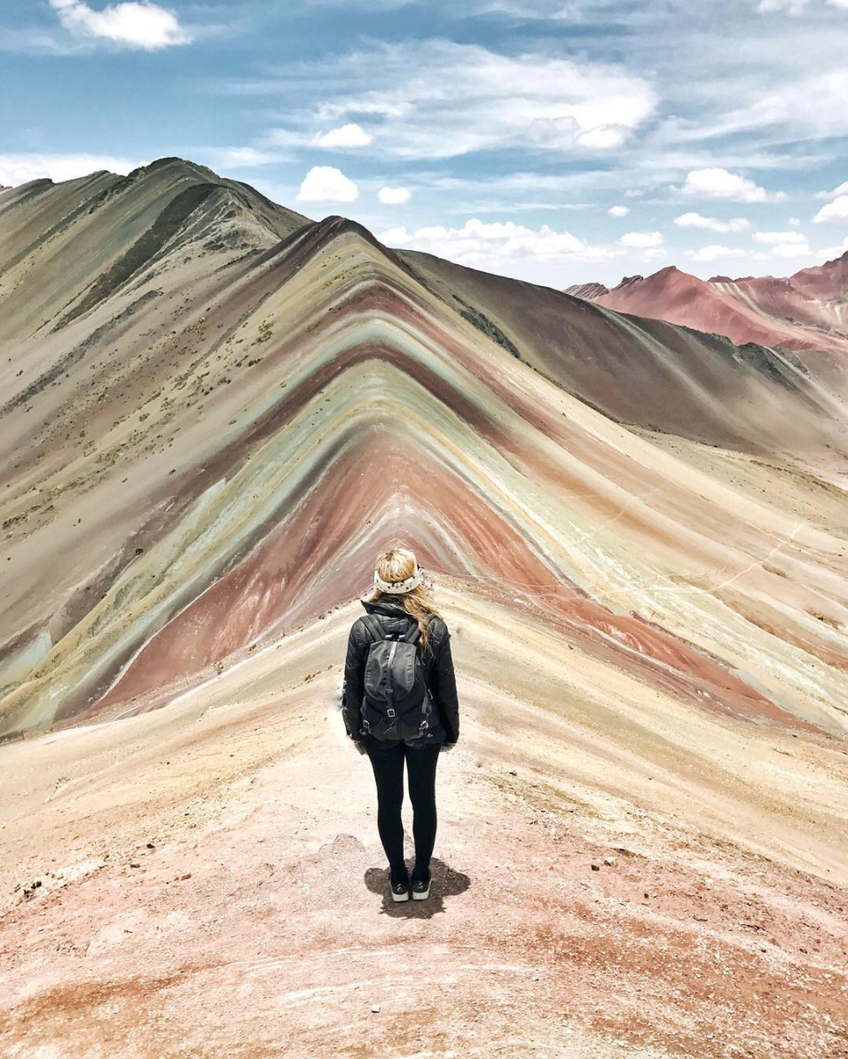 Rainbow Mountain via Live Like It's the Weekend