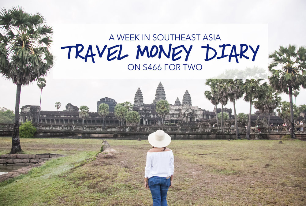 travel money diary southeast asia