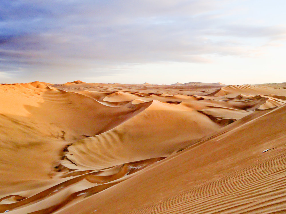 Ice Peru sand dunes