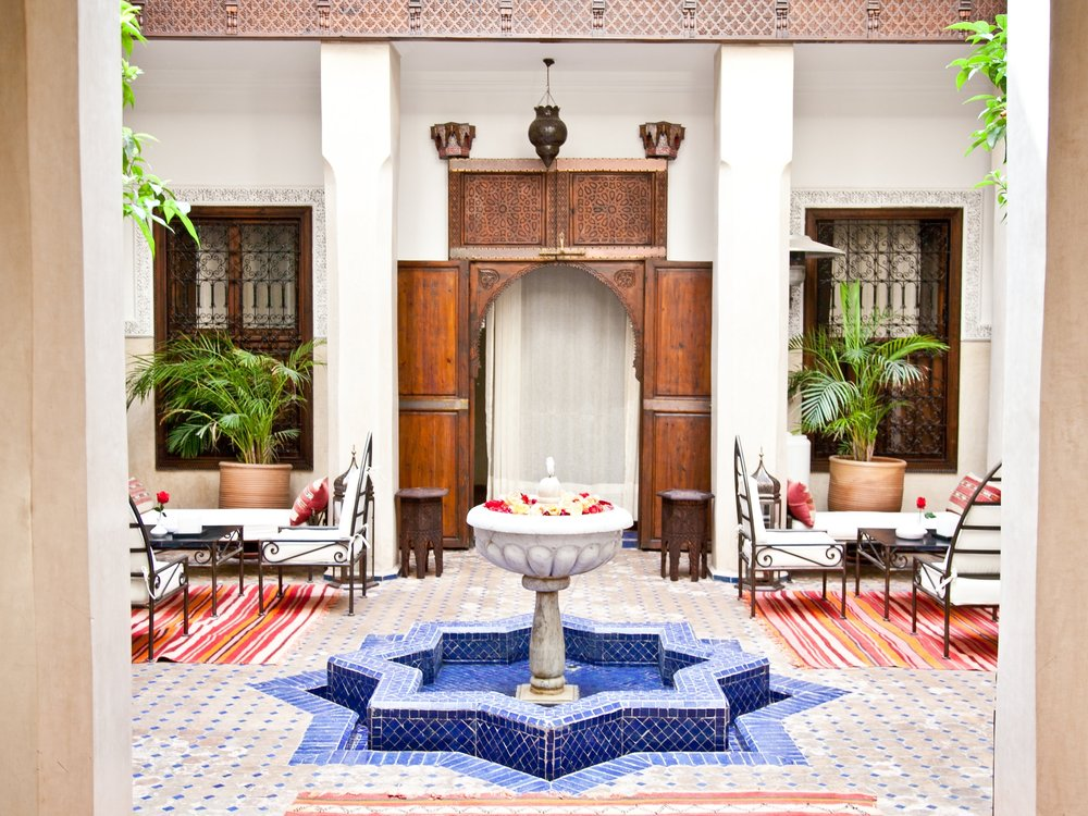 Marrakech - With its vibrant colors, captivating culture and lively energy, Morocco is the perfect place to experience a world unlike any other. The sprawling cities, like Casablanca and Marrakesh, make you feel as if you've walked into a movie - with architecture so ornate that it takes your breath away.
