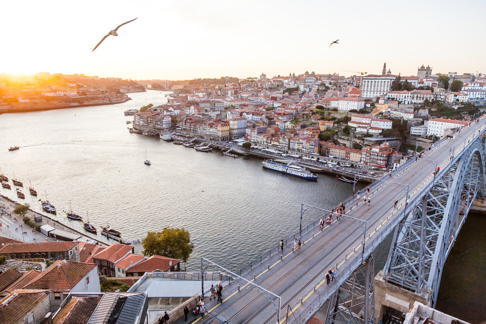 Portugal - Sandwiched between the Atlantic Ocean and its futbol rival Spain, Portugal is known for its lively cities and charming countryside.