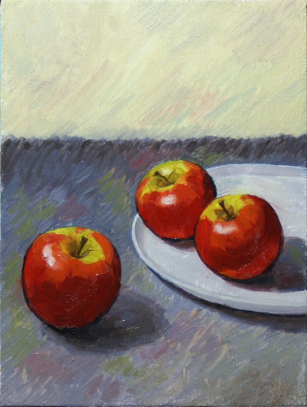 Cezanne's Apples by Rob Lunn