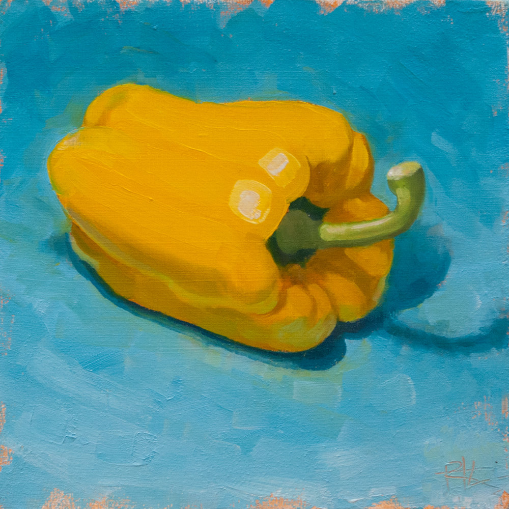 Yellow Pepper 03 by Rob Lunn
