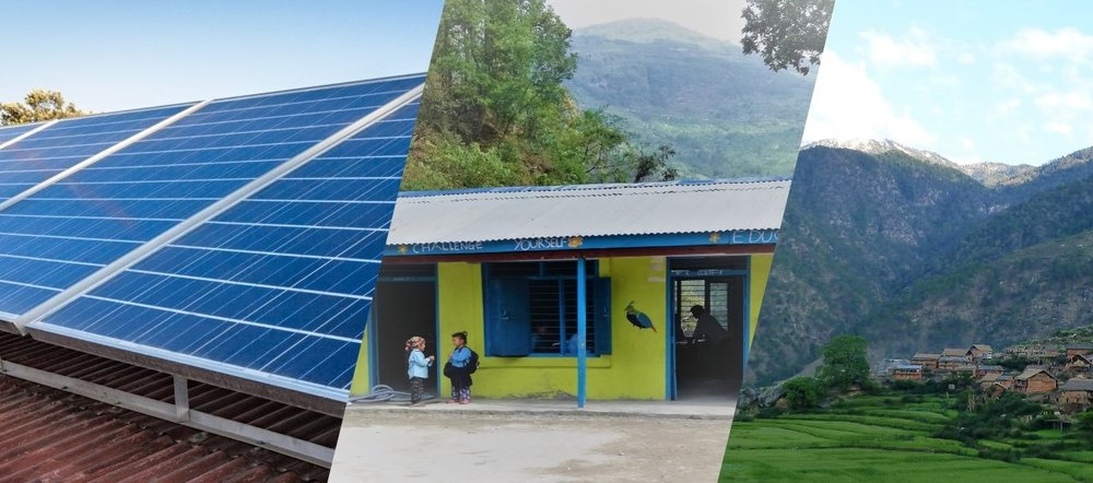 SOLAR FOR SCHOOLS - Powering schools in the remote corners of Nepal