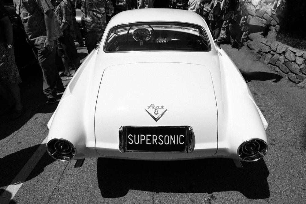 Supersonic Fiat 8 at Pebble Beach Councours