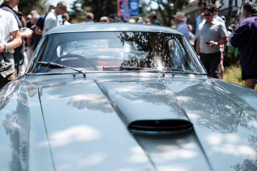 Classic car at Pebble Beach Concours
