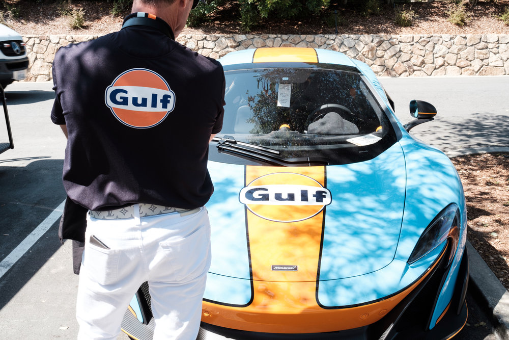 Gulf at Pebble Beach Concours