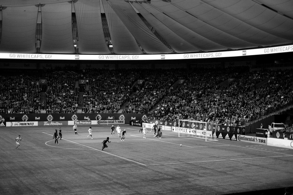 X-H1, XF 35mm f/1.4  - BC Place Stadium, Whitecaps game, March