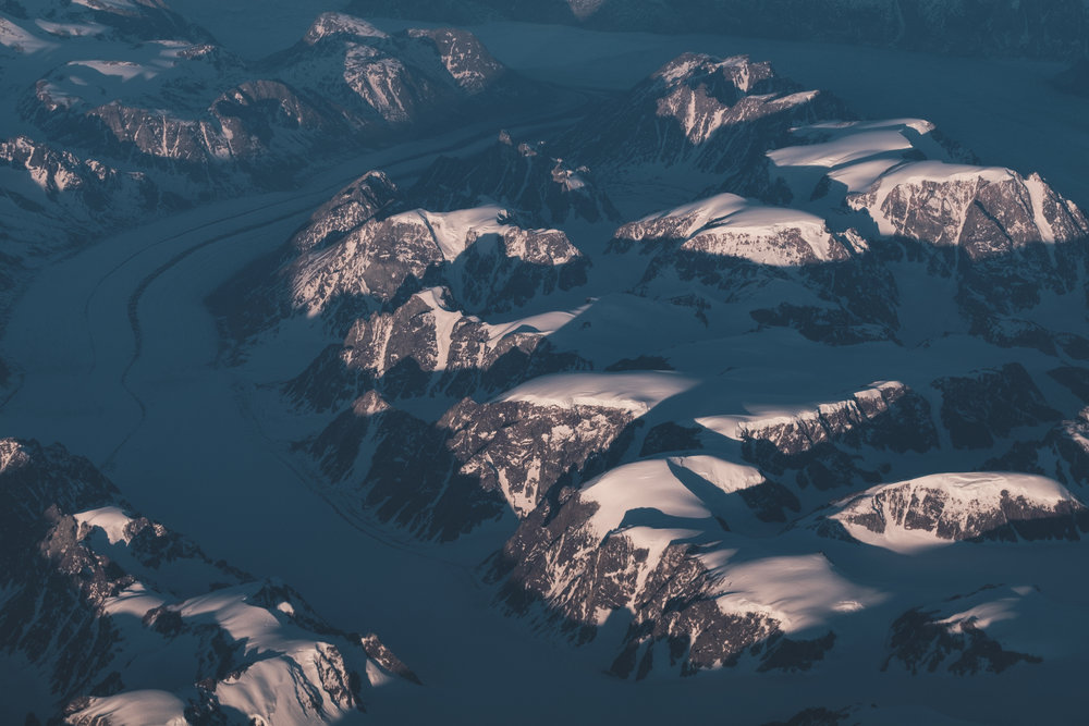 Glacier on the East Coast of Greenland