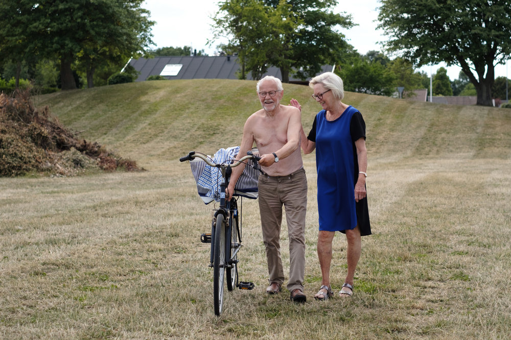 Great to see my uncle and aunt, Oluf and Birthe in Studstrup, North of Aarhus