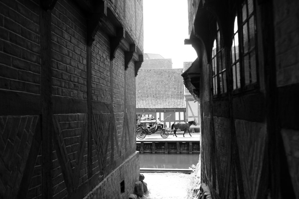 """Turn back time in """"The Old Town"""", Aarhus."""