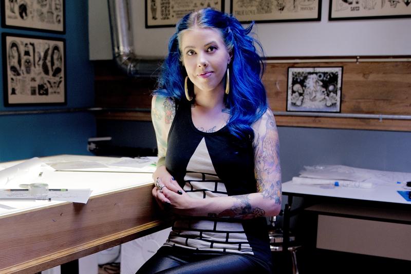 Olivia Britz-Wheat | Tattoo Artist at Fortune Tattoo