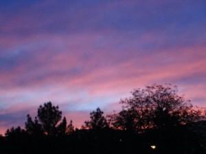 Yes, I love sunrises