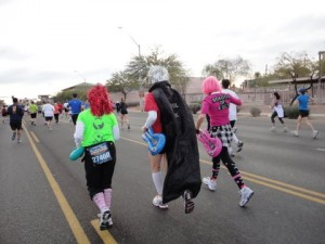Runners in costume. Note: NOT me.