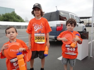 3 brothers getting ready to run!