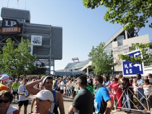 Finish Line at LP Field